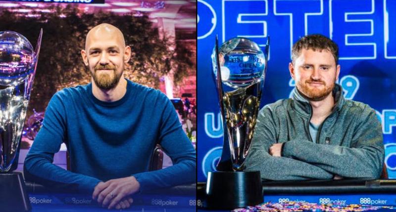 2018 USPO Winner Stephen Chidwick and 2019 Champion David Peters